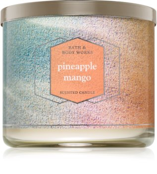 Bath & Body Works Pineapple Mango scented candle I.