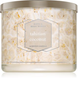 Bath & Body Works Tahitian Coconut illatos gyertya