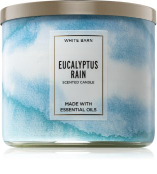 Bath & Body Works Eucalyptus Rain lumânare parfumată  I.