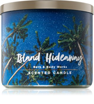 Bath & Body Works Island Hideaway illatos gyertya