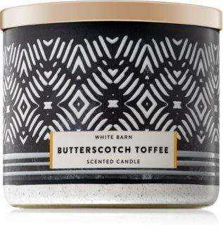 Bath & Body Works Butterscotch Toffee illatos gyertya