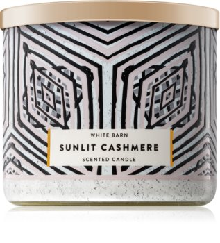 Bath & Body Works Sunlit Cashmere illatos gyertya