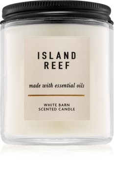 Bath & Body Works Island Reef scented candle With Essential Oils