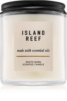 Bath & Body Works Island Reef vonná svíčka s esenciálními oleji