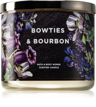 Bath & Body Works Bow Ties & Bourbon scented candle