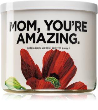 Bath & Body Works Watermelon Lemonade duftkerze  (Mom, you're amazing)