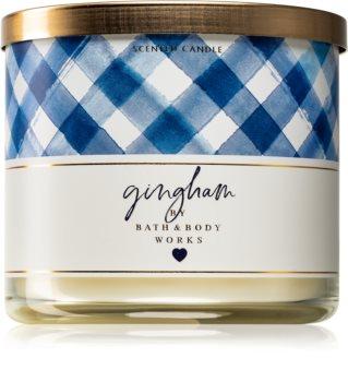 Bath & Body Works Gingham illatos gyertya