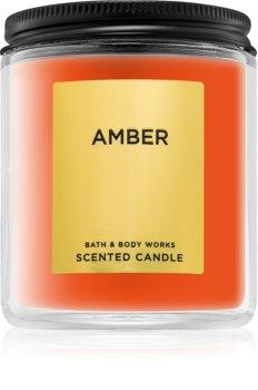 Bath & Body Works Amber vonná sviečka