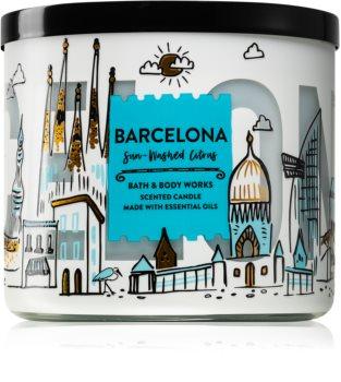 Bath & Body Works Sun-Washed Citrus duftkerze  II. (Barcelona)