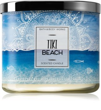 Bath & Body Works Tiki Beach illatos gyertya