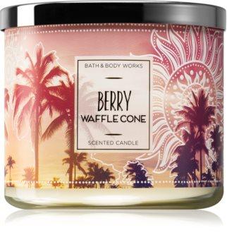 Bath & Body Works Berry Waffle Cone illatos gyertya