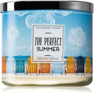 Bath & Body Works The Perfect Summer illatos gyertya