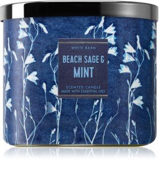 Bath & Body Works Beach Sage & Mint illatos gyertya