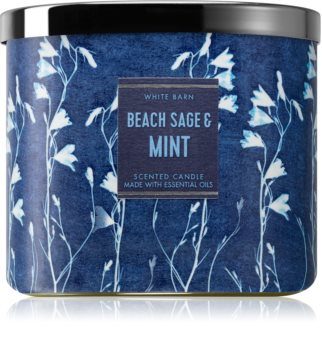 Bath & Body Works Beach Sage & Mint lumânare parfumată
