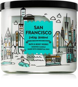 Bath & Body Works Endless Weekend illatos gyertya  II. (San Francisco)