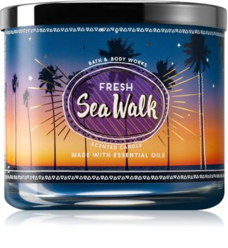 Bath & Body Works Fresh Sea Walk vonná svíčka