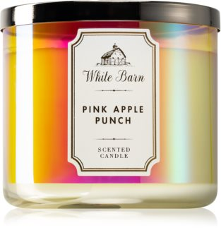 Bath & Body Works Pink Apple Punch vonná sviečka I.