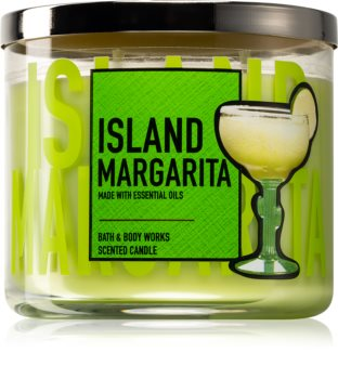 Bath & Body Works Island Margarita bougie parfumée IV.