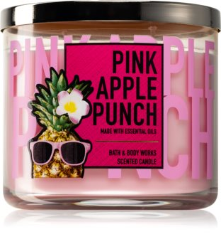 Bath & Body Works Pink Apple Punch vonná svíčka