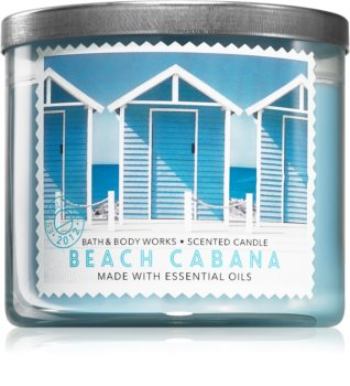 Bath & Body Works Beach Cabana vonná sviečka