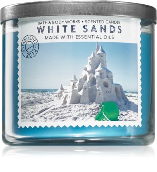 Bath & Body Works White Sands illatos gyertya