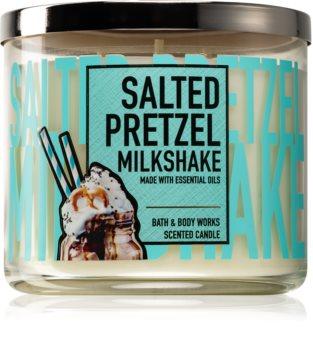 Bath & Body Works Salted Pretzel Milkshake bougie parfumée