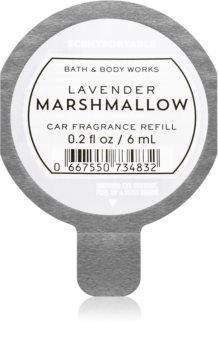 Bath & Body Works Lavender Marshmallow vůně do auta náhradní náplň