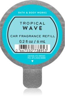 Bath & Body Works Tropical Wave vůně do auta náhradní náplň