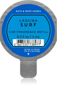 Bath & Body Works Laguna Surf vôňa do auta náhradná náplň
