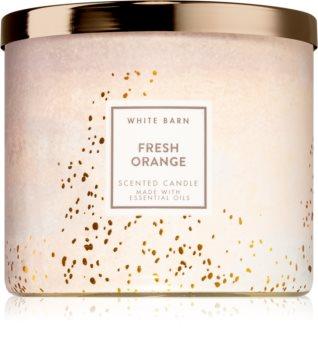 Bath & Body Works Fresh Orange illatos gyertya