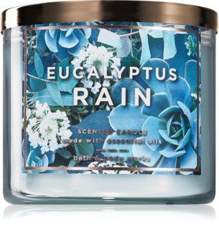 Bath & Body Works Eucalyptus Rain illatos gyertya  II.