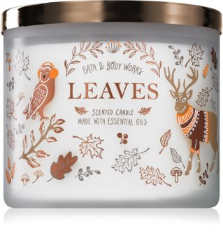 Bath & Body Works Leaves bougie parfumée
