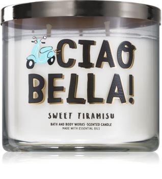 Bath & Body Works Sweet Tiramisu illatos gyertya