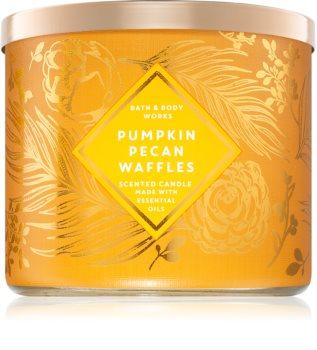 Bath & Body Works Pumpkin Pecan Waffles bougie parfumée III.