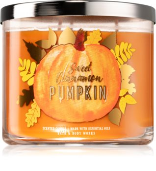 Bath & Body Works Sweet Cinnamon Pumpkin illatos gyertya  III.
