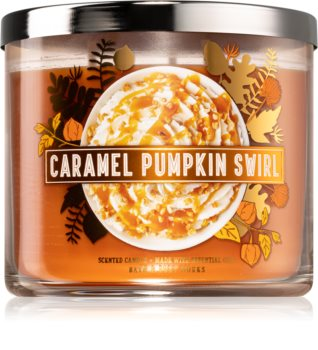 Bath & Body Works Caramel Pumpkin Swirl illatos gyertya