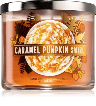 Bath & Body Works Caramel Pumpkin Swirl vela perfumada