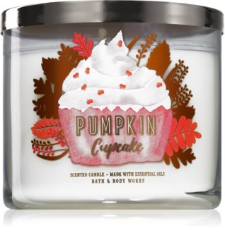 Bath & Body Works Pumpkin Cupcake bougie parfumée