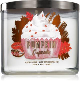 Bath & Body Works Pumpkin Cupcake illatos gyertya