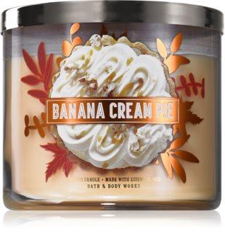 Bath & Body Works Banana Cream Pie bougie parfumée