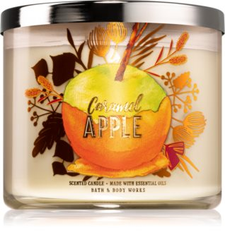Bath & Body Works Caramel Apple vonná sviečka