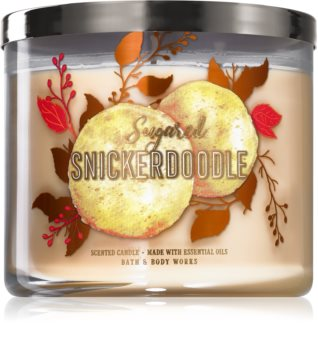 Bath & Body Works Sugared Snickerdoodle illatos gyertya