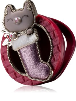 Bath & Body Works Cat in Stocking scentportable holder for car Hanging