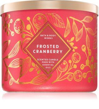 Bath & Body Works Frosted Cranberry vonná sviečka II.