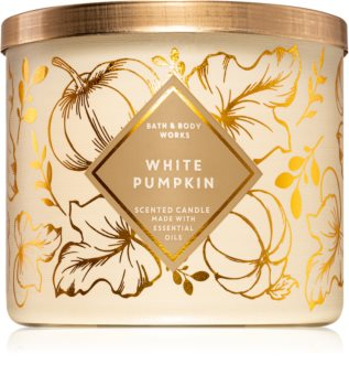 Bath & Body Works White Pumpkin scented candle