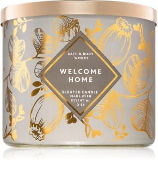 Bath & Body Works Welcome Home scented candle