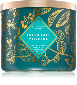 Bath & Body Works Fresh Fall Morning illatos gyertya