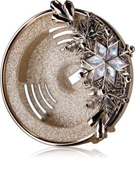 Bath & Body Works Gold Snowflake držiak na vôňu do auta clip