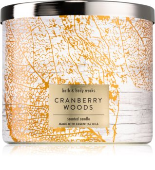 Bath & Body Works Cranberry Woods scented candle