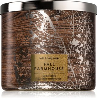 Bath & Body Works Fall Farmhouse illatos gyertya